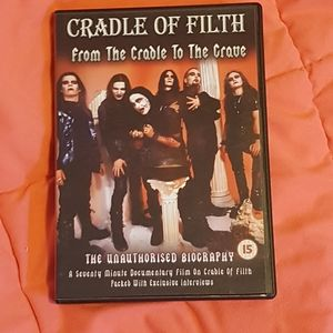 🕸5 for $25🕸Cradle of Filth dvd